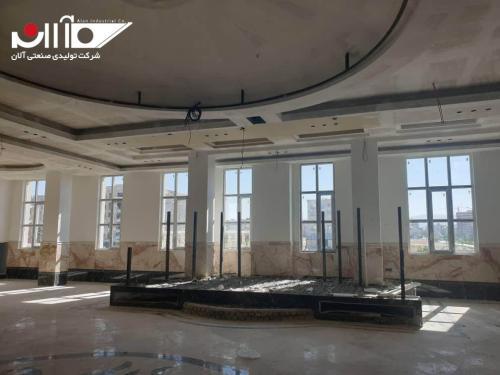 پروژه تالار مجلل الهیه مشهد
