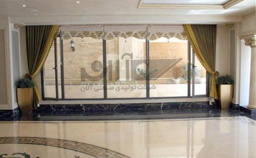 درب و پنجره با پروفیل رینرز : 830 مترمربع